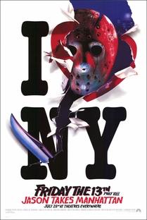 Sexta-Feira 13: Parte 8 - Jason Ataca Nova York - Poster / Capa / Cartaz - Oficial 1