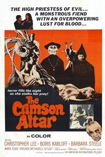 A Maldição do Altar Escarlate - Poster / Capa / Cartaz - Oficial 2