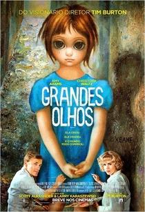 Grandes Olhos - Poster / Capa / Cartaz - Oficial 3