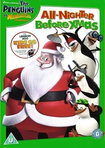 Os Pinguins de Madagascar: A Noite Toda Antes do Natal - Poster / Capa / Cartaz - Oficial 2