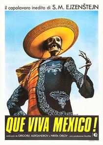 Que Viva México! - Poster / Capa / Cartaz - Oficial 1