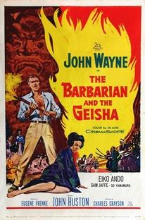 O Bárbaro e a Gueixa - Poster / Capa / Cartaz - Oficial 2