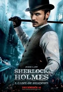 Sherlock Holmes: O Jogo de Sombras - Poster / Capa / Cartaz - Oficial 10