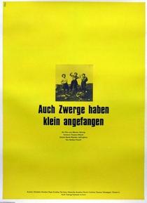 Os Anões Também Começaram Pequenos - Poster / Capa / Cartaz - Oficial 1