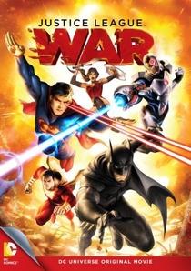 Liga da Justiça: Guerra - Poster / Capa / Cartaz - Oficial 1