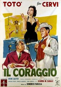 A coragem - Poster / Capa / Cartaz - Oficial 1