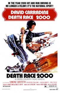 Corrida da Morte - Ano 2000 - Poster / Capa / Cartaz - Oficial 1