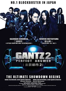 Gantz 2: Resposta Perfeita - Poster / Capa / Cartaz - Oficial 1