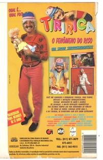 Tiririca - Qual É, Qual Foi...? - Poster / Capa / Cartaz - Oficial 2