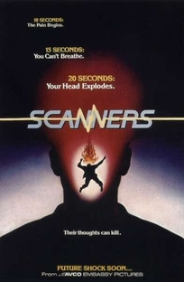Scanners - Sua Mente Pode Destruir - Poster / Capa / Cartaz - Oficial 2