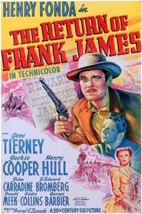 O Retorno de Frank James - Poster / Capa / Cartaz - Oficial 1