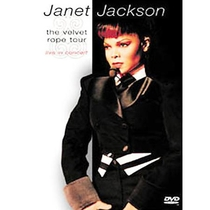 Janet Jackson - The Velvet Rope Tour: Live in Concert  - Poster / Capa / Cartaz - Oficial 1