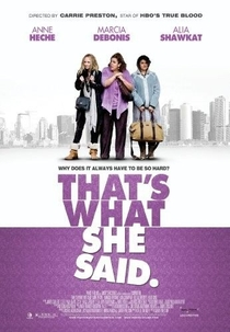 That's What She Said - Poster / Capa / Cartaz - Oficial 2
