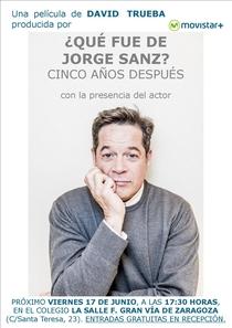 ¿Qué fue de Jorge Sanz? 5 años después - Poster / Capa / Cartaz - Oficial 1