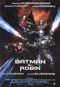 Batman & Robin - Poster / Capa / Cartaz - Oficial 3