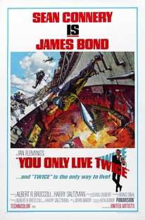 Com 007 Só Se Vive Duas Vezes - Poster / Capa / Cartaz - Oficial 4