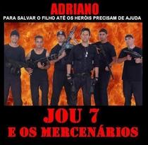 JOU 7 E OS MERCENÁRIOS - Poster / Capa / Cartaz - Oficial 2
