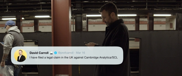 'The Great Hack' explora o escândalo de dados do Cambridge Analytica e Facebook