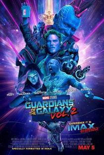 Guardiões da Galáxia Vol. 2 - Poster / Capa / Cartaz - Oficial 3
