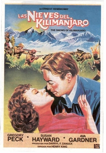 As Neves do Kilimanjaro - Poster / Capa / Cartaz - Oficial 9