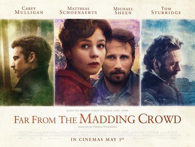 """Primeiro clipe de """"Far From the Madding Crowd"""", com Carey Mulligan e Matthias Schoenaerts"""