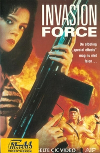Força Invasora - Poster / Capa / Cartaz - Oficial 1