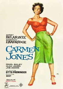 Carmen Jones - Poster / Capa / Cartaz - Oficial 3