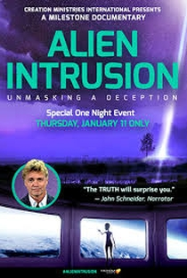 Alien Intrusion: Unmasking a Deception - Poster / Capa / Cartaz - Oficial 1