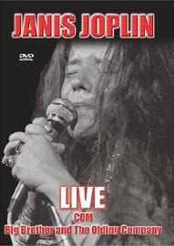 Janis Joplin - Live com Big Brother and The Olding Company - Poster / Capa / Cartaz - Oficial 1