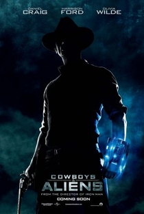 Cowboys & Aliens - Poster / Capa / Cartaz - Oficial 1