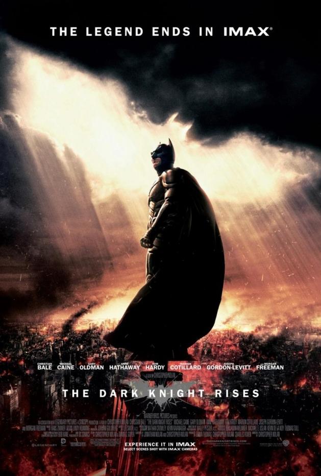 Batman – O Cavaleiro das Trevas Ressurge | Confira o poster IMAX do filme