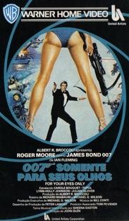 007 - Somente Para Seus Olhos - Poster / Capa / Cartaz - Oficial 3