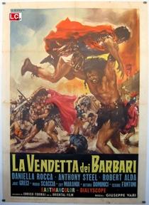 Vingança dos bárbaros - Poster / Capa / Cartaz - Oficial 2