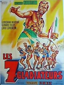 Os Sete Gladiadores - Poster / Capa / Cartaz - Oficial 6