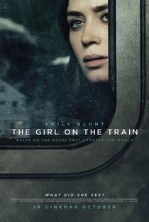 A Garota no Trem - Poster / Capa / Cartaz - Oficial 1