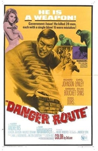 O Karatê da Morte (A Rota do Perigo) - Poster / Capa / Cartaz - Oficial 2