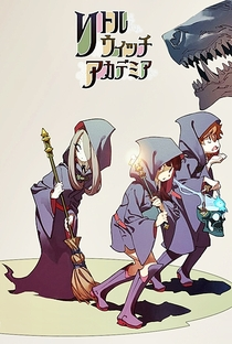 Little Witch Academia - Poster / Capa / Cartaz - Oficial 3