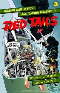 Esquadrão Red Tails - Poster / Capa / Cartaz - Oficial 3