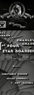 The Four Star Boarder  - Poster / Capa / Cartaz - Oficial 1