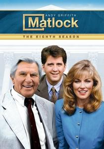 Matlock (8ª Temporada) - Poster / Capa / Cartaz - Oficial 1