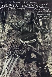 Os Sete Samurais - Poster / Capa / Cartaz - Oficial 28