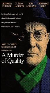 A Murder of Quality - Poster / Capa / Cartaz - Oficial 1