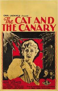 O Gato e o Canário - Poster / Capa / Cartaz - Oficial 2