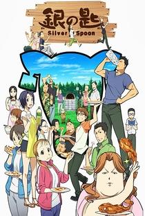 Gin no Saji (2ª Temporada) - Poster / Capa / Cartaz - Oficial 7