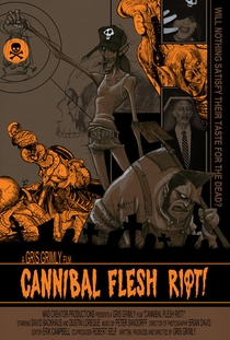 Cannibal Flesh Riot - Poster / Capa / Cartaz - Oficial 1