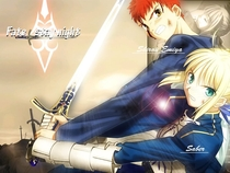 Fate Stay Night - Poster / Capa / Cartaz - Oficial 2
