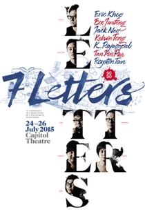7 Letters - Poster / Capa / Cartaz - Oficial 1