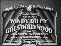 Windy Riley vai a Hollywood - Poster / Capa / Cartaz - Oficial 1