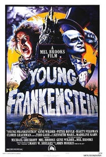 O Jovem Frankenstein - Poster / Capa / Cartaz - Oficial 1