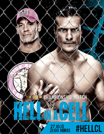 WWE Hell In a Cell - 2013 - Poster / Capa / Cartaz - Oficial 3
